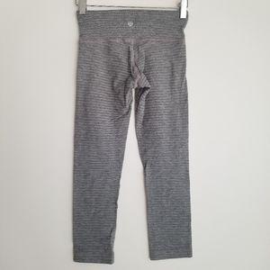 lululemon gray leggings 0
